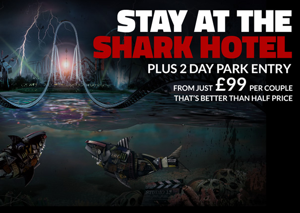 Stay at the brand new THORPE SHARK Hotel