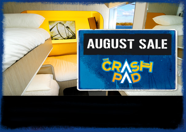 August sale on stays at The Crash Pad Hotel