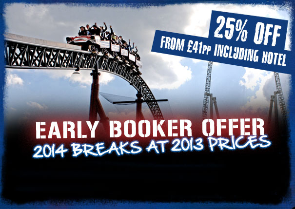THORPE PARK Early Booker Offer