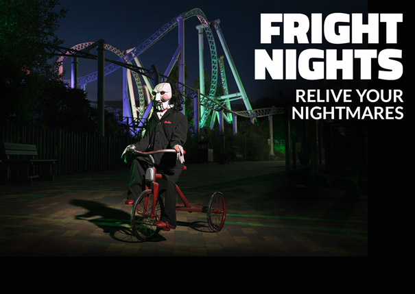 THORPE PARK and Lionsgate Films present Fright Nights