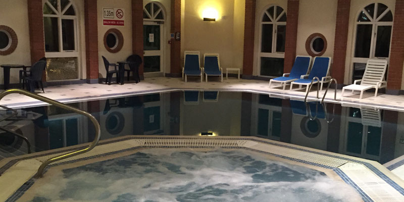 hogs back hotel and spa farnham pool